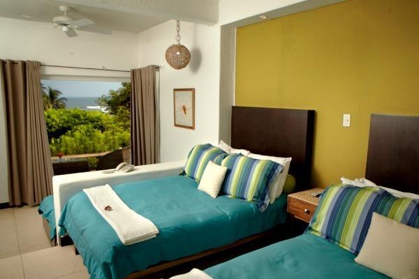 las flores resort - habitación doble con vista parcial al mar:6